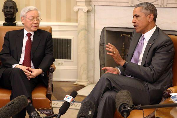 Pierwsza wizyta szefa Komunistycznej Partii Wietnamu w Białym Domu