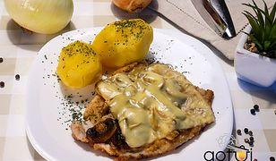 Kotlety schabowe z żółtym serem. W sam raz dla głodomorów