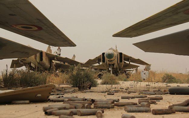Syryjski reżim będzie potrzebował wsparcia Rosji także ze względu na ostatnie klęski. Na zdjęciu lotnisko wojskowe Abu Duhur zajęte przez sprzymierzeńców Al-Kaidy