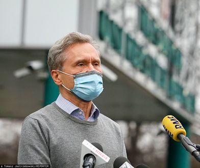 """Zbigniew Gaciong uraził lekarzy? """"Wyrażam ubolewanie"""""""