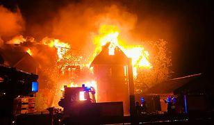 Pożar w Kruszynianach, spłonęła Tatarska Jurta. Właściciele pokazali szokujące zdjęcia