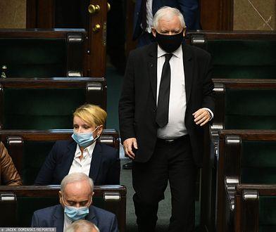 Posiedzenie Sejmu. Jarosław Kaczyński zabrał głos
