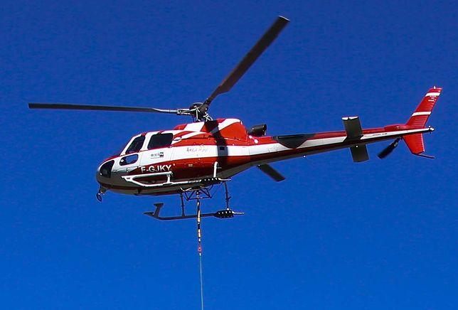 Francja. Helikopter EC135