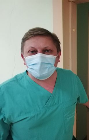 Punkt szczepień w szpitalu w Kościerzynie pod Gdańskiem