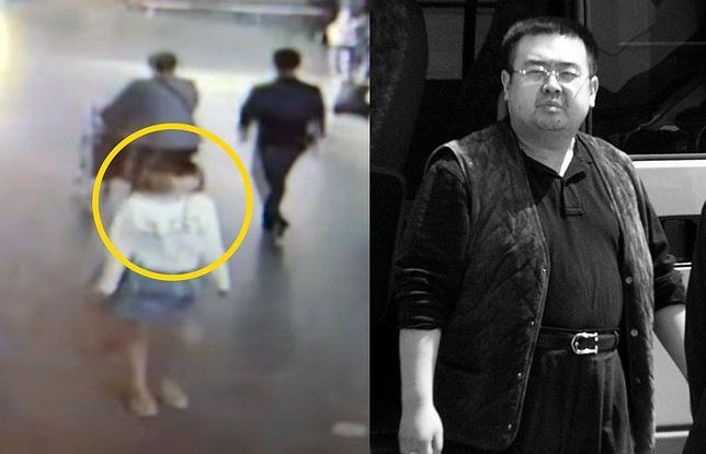 Kim Dzong Nam zmarł po podaniu trującego środka przez kobietę widoczną na nagraniu