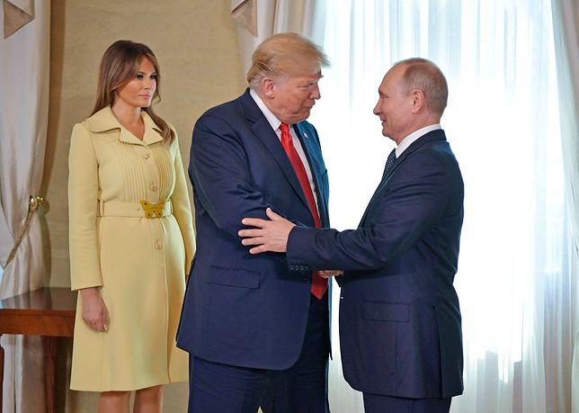 Donald Trump nie kryje podziwu dla Władimira Putina
