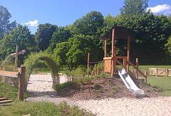 Warszawa. Ławki, park, ścieżka rowerowa, tężnia. Ostatnie dni na głosowanie