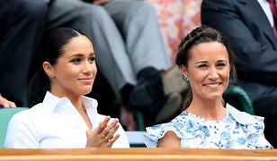 Pippa Middleton na Wimbledonie. Zachowała stoicki spokój