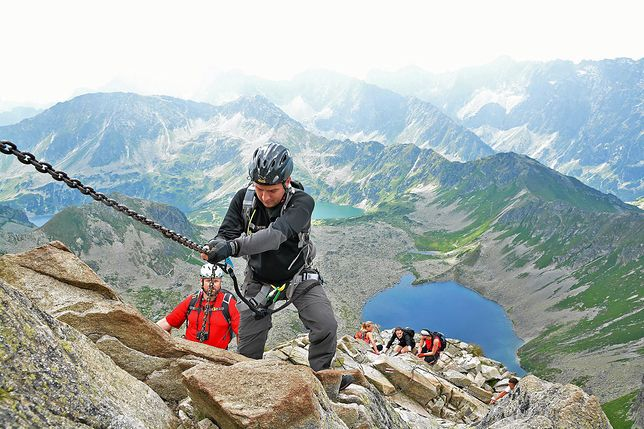 Wspinaczka w Tatrach będzie wkrótce elektronicznie rejestrowana.