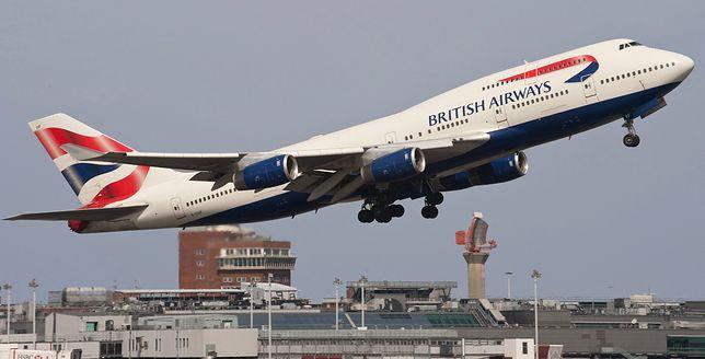 British Airways ma poważną usterkę w systemie