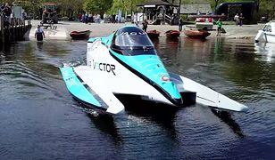 Tak wygląda najszybsza łódź zasilana silnikiem elektrycznym