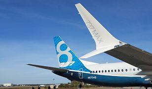 Boeing 737 MAX z wadliwym systemem kontroli lotów.