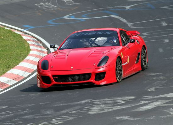 Ferrari 599XX najlepsze na Ringu