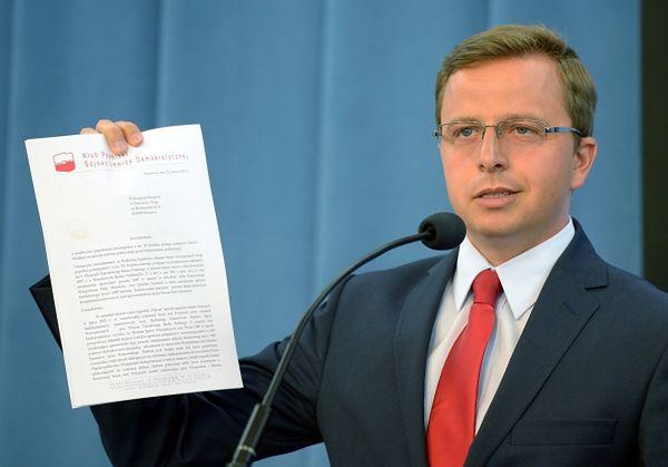 Dariusz Joński: Donald Tusk poza sejmem większości by nie miał