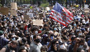 Śmierć George'a Floyda wywołała protesty w USA / fot. Justin Lane