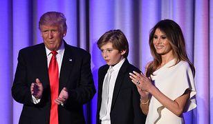Melania Trump rozmawia z synem o wszystkim