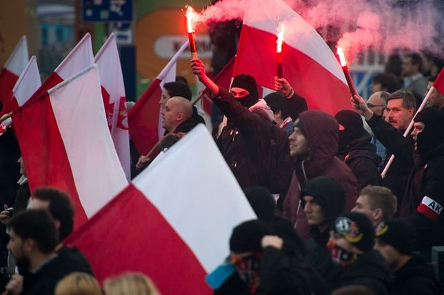 Krzysztof Bosak o zamieszkach: ci ludzie są nie do końca zrównoważeni [WIDEO]