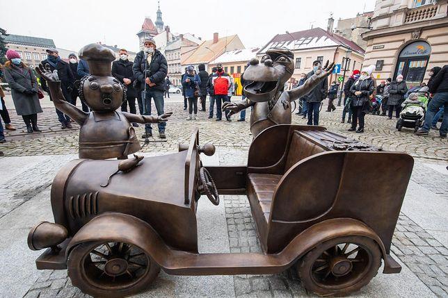 Bielsko-Biała ma nowy pomnik na bajkowym szlaku.