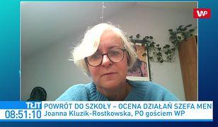 Pierwszy dzień szkoły. Joanna Kluzik-Rostkowska krytycznie ocenia Dariusza Piontkowskiego