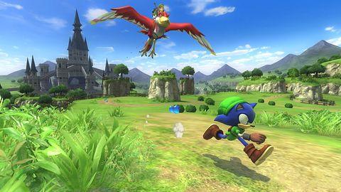 DLC do Sonic: Lost World przeniesie nas do świata... The Legend of Zelda