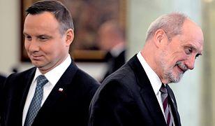 Kontratak Macierewicza w konflikcie z prezydentem. Wraca sprawa likwidacji WSI