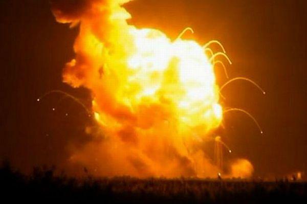Katastrofa rakiety NASA. Antares wybuchła tuż po starcie