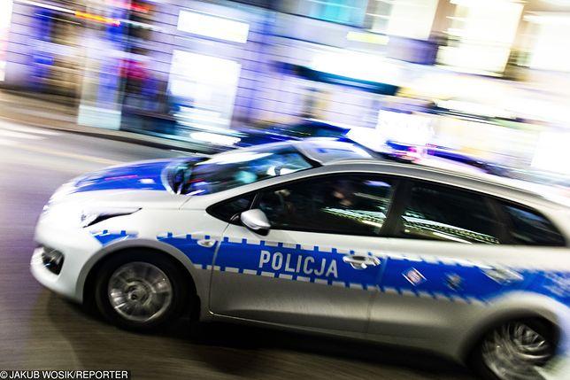 Policja interweniowała na warszawskich Bielanach