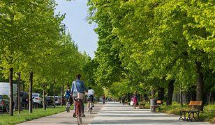 Ścieżki rowerowe w Warszawie