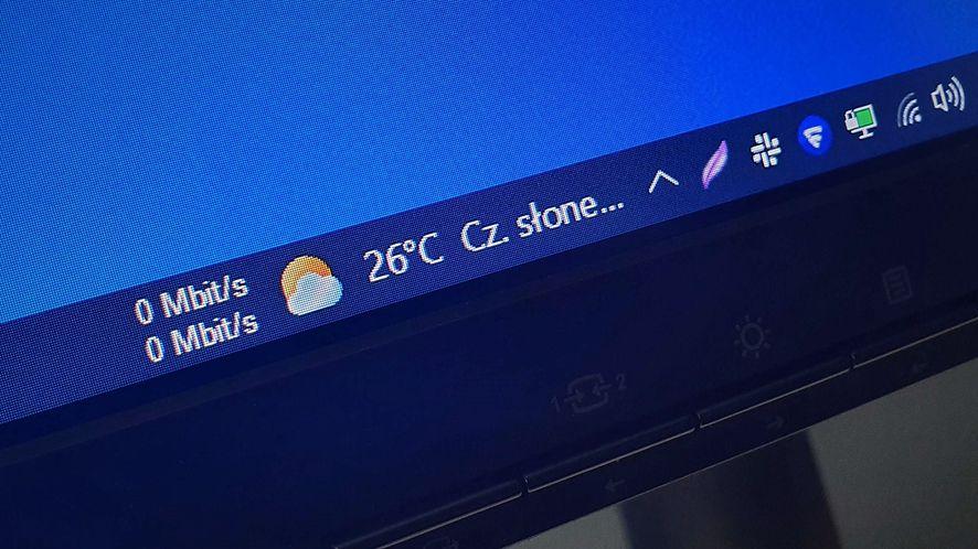 """""""Wiadomości i zainteresowania"""" na pasku zadań Windows 10"""