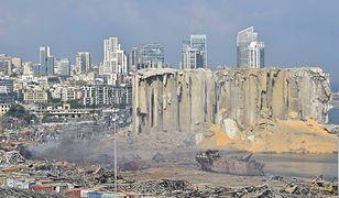 Eksplozja w Bejrucie. Rośnie liczba ofiar śmiertelnych