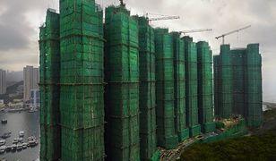 Hongkong - niesamowite drapacze chmur