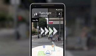 Google Maps wkracza w świat rzeczywistości rozszerzonej
