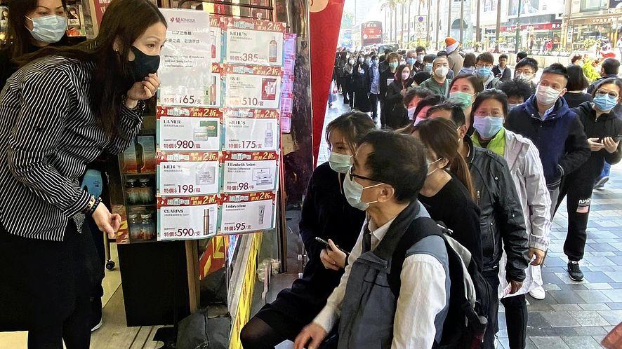 Koronawirus w Chinach (fot. Yomiuri Shimbun/Associated Press/East News)