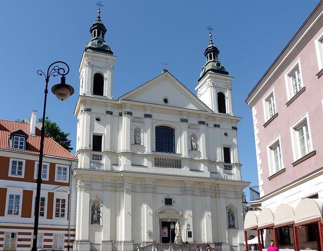 Warszawa. Kościół Ojców Paulinów pod wezwaniem Świętego Ducha i Pawła Pustelnika