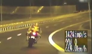 214 km/h! Uciekał przed policją (wideo)