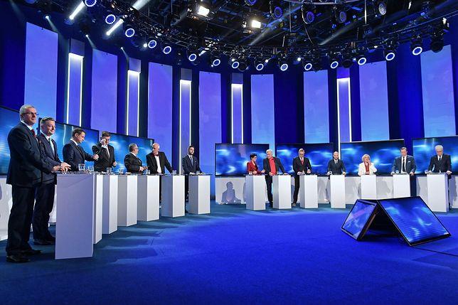 W warszawskiej debacie udział wzięło 14 kandydatów na prezydenta stolicy.