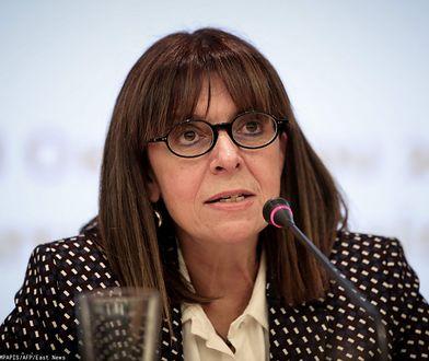 Katerina Sakellaropulu została prezydentem Grecji