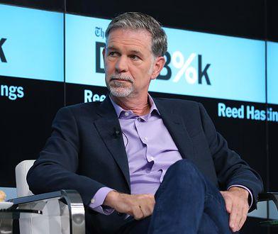 Szef Netflixa wyceniany na 3,5 mld dolarów. Kim jest Reed Hastings?