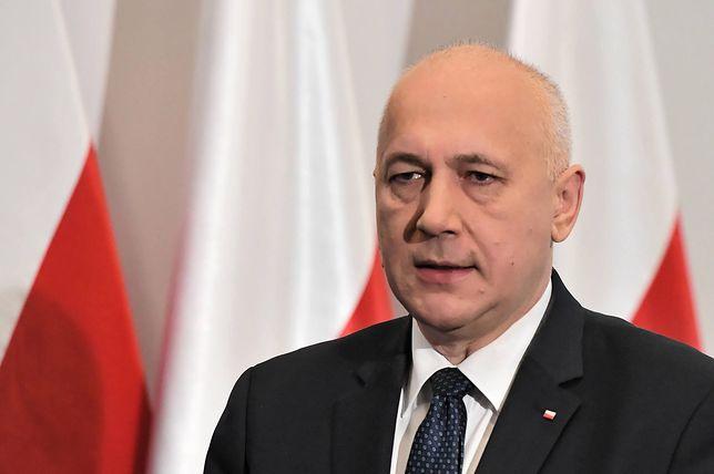 Joachim Brudziński, szef MSWiA.