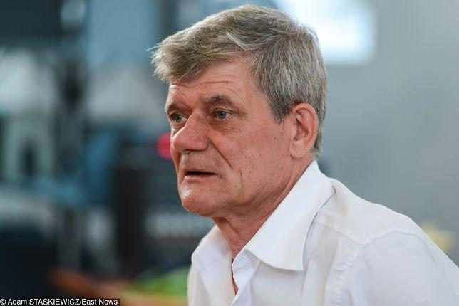 Henryk Gołębiewski jest abstynentem