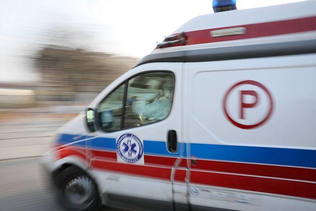 Warszawa. Agresywny pacjent zniszczył karetkę pogotowia [zdj. ilustracyjne]