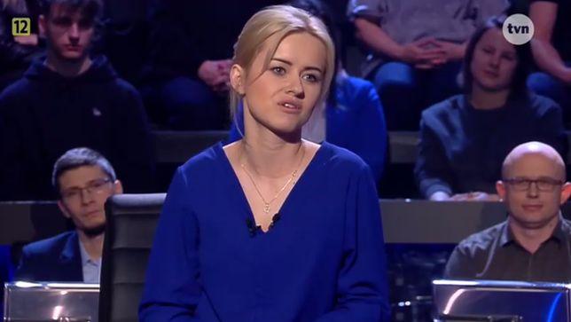 Milionerzy - śliczną zawodniczkę pokonała Matka Boska Częstochowska