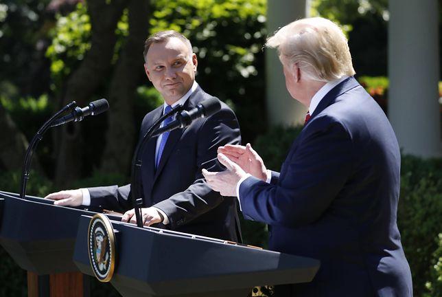Donald Trump wielokrotnie dawał oznaki sympatii dla rządzących w Polsce
