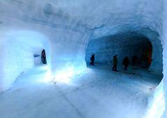 Islandia - zwiedzanie wnętrza lodowca Langjokull