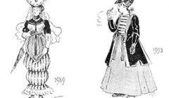 Jak projektanci XIX w. wyobrażali sobie modę wieku XX?