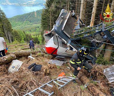 Włochy. Katastrofa w Alpach. Pokazano treść wiadomości od ofiar