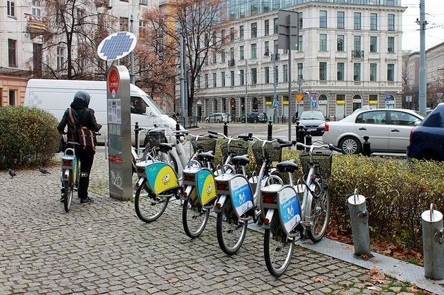 GPS na rowerach, stacja Veturilo usunięta ze Stalowej i Piotra Skargi