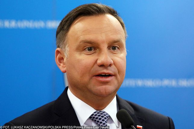 Andrzej Duda udzielił kontrowersyjnej wypowiedzi ws. Sądu Najwyższego