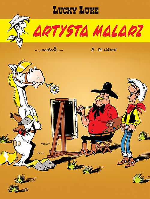 Lucky Luke. Artysta malarz, Egmont 2020