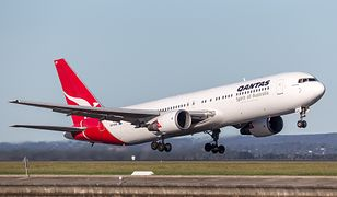 Boeing 767 w barwach linii Qantas Airways